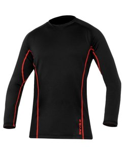 Bare Ultrawarmth Base Layer Top Black/Lava Men