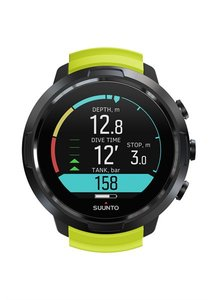Suunto D5 Lime of All Black with USB